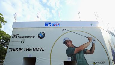 The BMW PGA is coming...