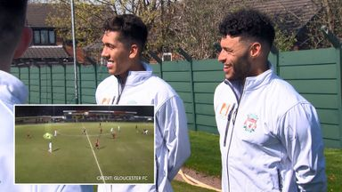 Liverpool recreate best Sunday League goals!