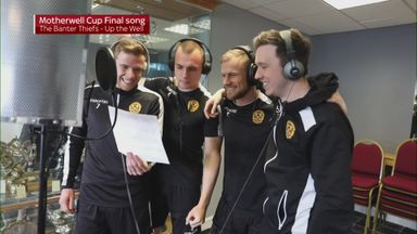 Motherwell's Cup final song