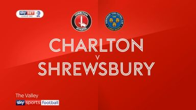 Charlton 0-1 Shrewsbury