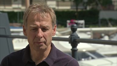 Klinsmann on potential return to Premier League
