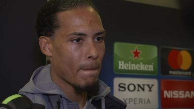 Van Dijk: Hard work paying off