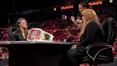 Rousey vows to take Nia Jax's title