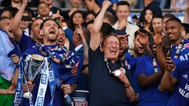 Cardiff promoted to the Premier League