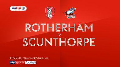 Rotherham 2-0 Scunthorpe (Agg: 4-2)