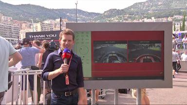 Ricciardo's pole lap analysed