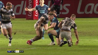 Faraimo sees red for tackle