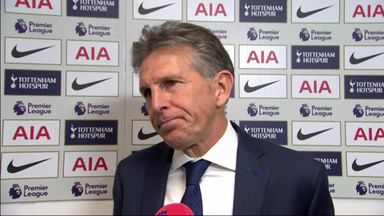 Puel praises Foxes effort