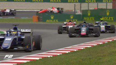 F2 Race 2: Spain