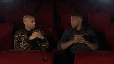 Thierry Meets Anthony Joshua