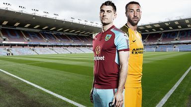 Burnley v Brighton