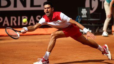 Rome: Djokovic v Ramos-Vinolas
