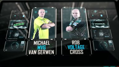PL Darts: Van Gerwen v Cross