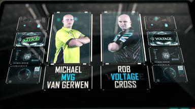 PL Darts: Van Gerwen v Cross
