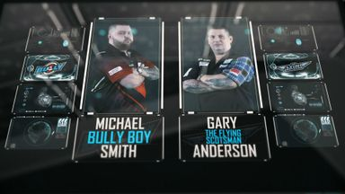 PL Darts: Anderson v Smith