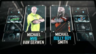 PL Darts Final: Van Gerwen v Smith