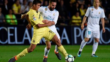 Villareal v Real Madrid