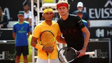 Rome Final: Nadal v Zverev