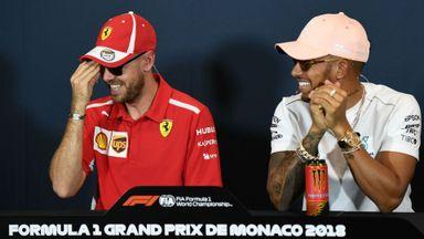 Driver Press Conference - Monaco