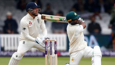 England v Pakistan: 1st Test, Day 2