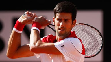 Djokovic v Dolgopolov: Highlights