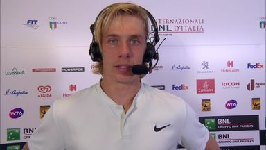 Shapovalov: Happy with play