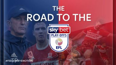 Middlesbrough's road to the play-offs