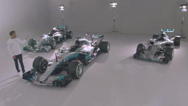 Hamilton on Mercedes title winners