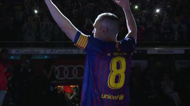 Iniesta's Barca goodbye