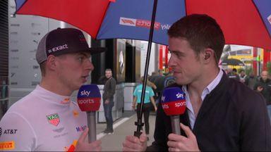 Verstappen: We're working hard