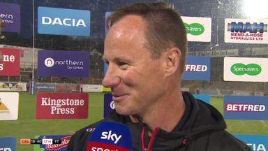 Holbrook: I'm really happy