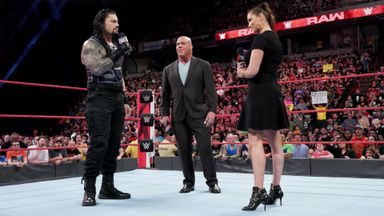 McMahon addresses Roman Reigns situation