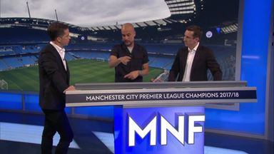 Neville and Pep analyse City tactics