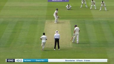 Blog Only: Malan Wicket
