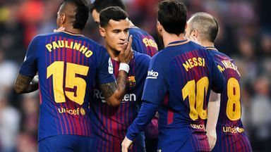 Barcelona 5-1 Villarreal