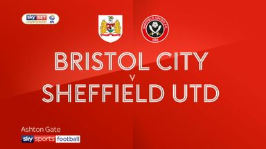 Bristol City 2-3 Sheffield United