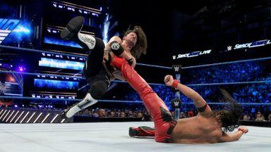 Nakamura beats Styles