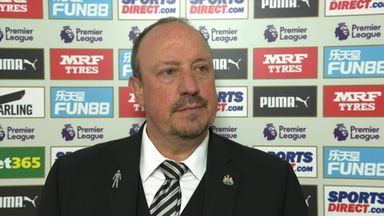 Benitez hails great finish