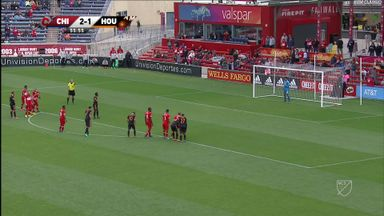 Chicago Fire 2-3 Houston Dynamo