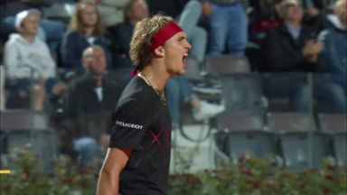 Goffin v A. Zverev: Highlights