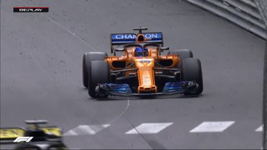 Alonso retires from race
