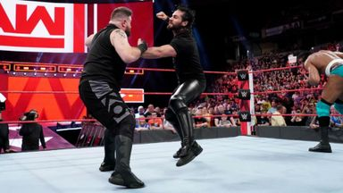 Reigns and Rollins join forces