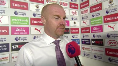 Dyche disappointed with display