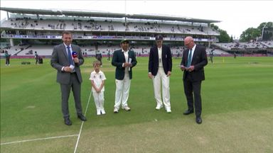 England v Pakistan 1st Test:The Toss