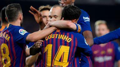 Barcelona 1-0 Real Sociedad