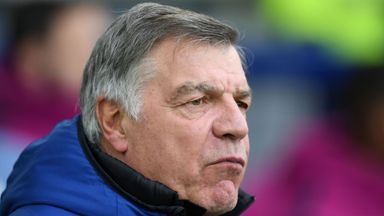 'The fans haven't taken to Allardyce'