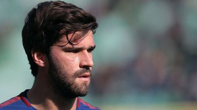 'Real Madrid, Liverpool chasing Alisson'
