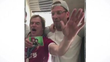 Klopp sings with fans hours after loss