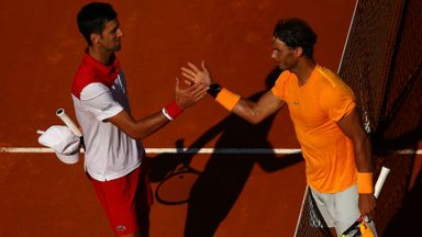 Nadal v Djokovic: Highlights