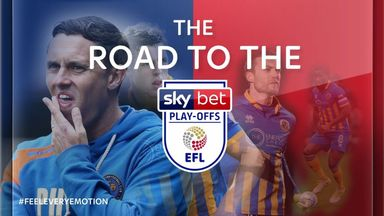 Shrewsbury's road to the play-offs